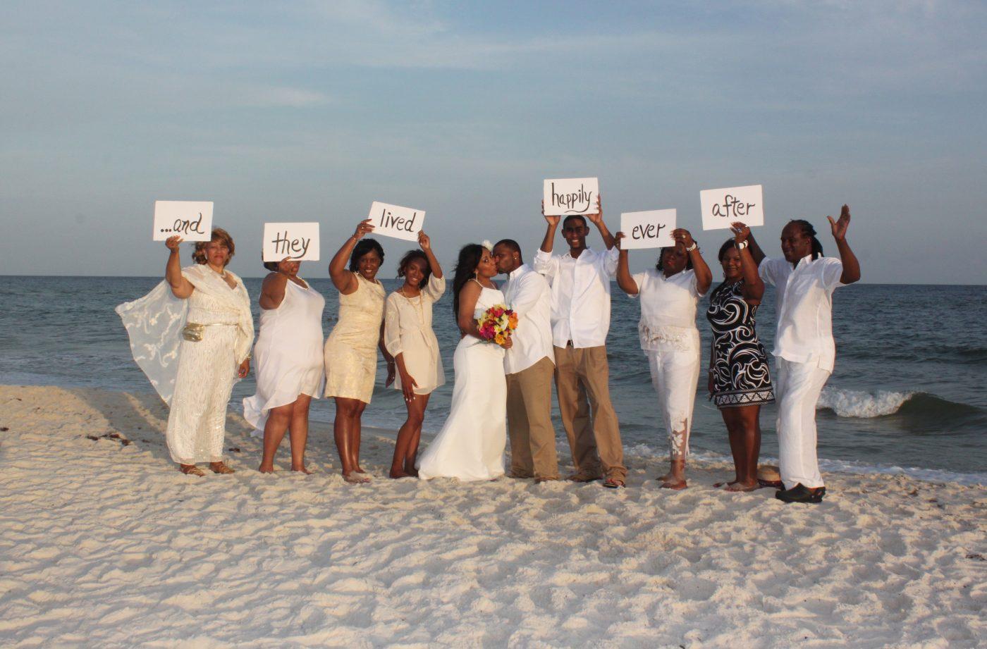 Beachside Wedding Memories - GSWC