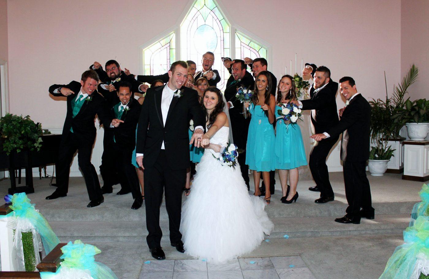 Having Fun at Gulf Shores Wedding Chapel