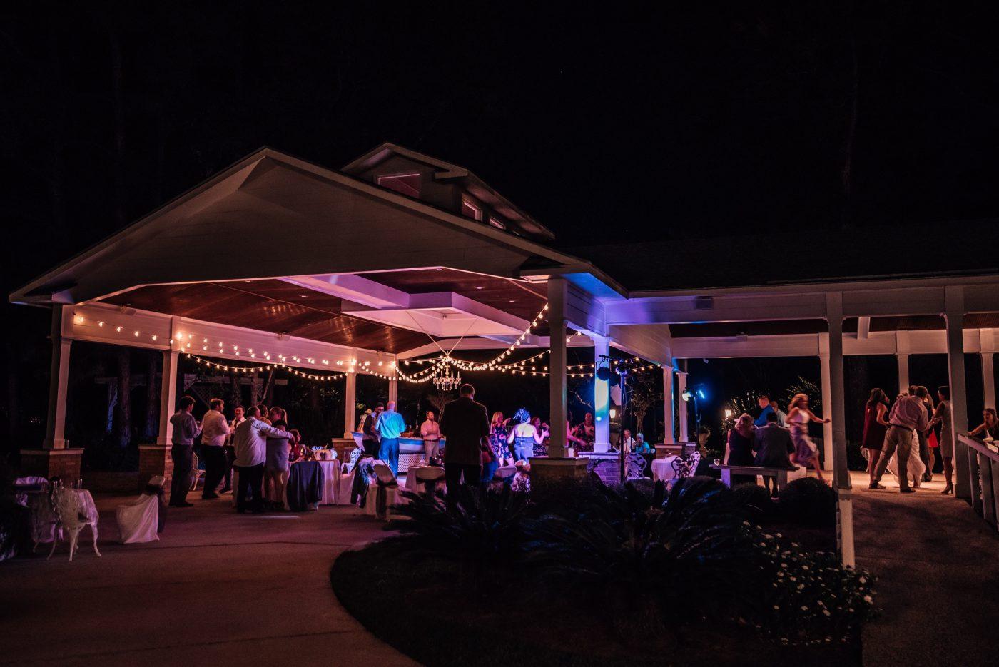 Pavilion during reception