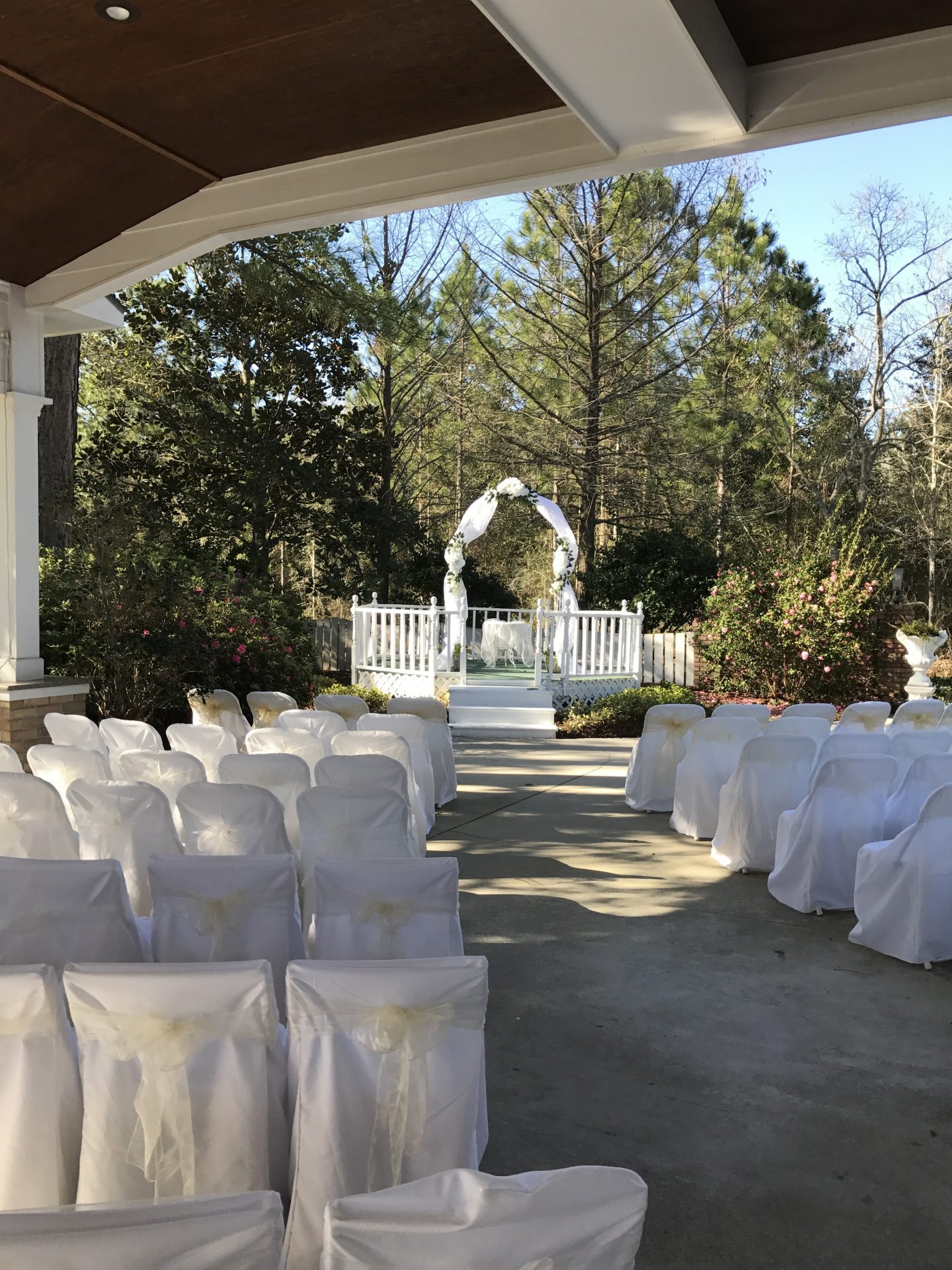 Gulf Shores Wedding Chapel Garden Wedding