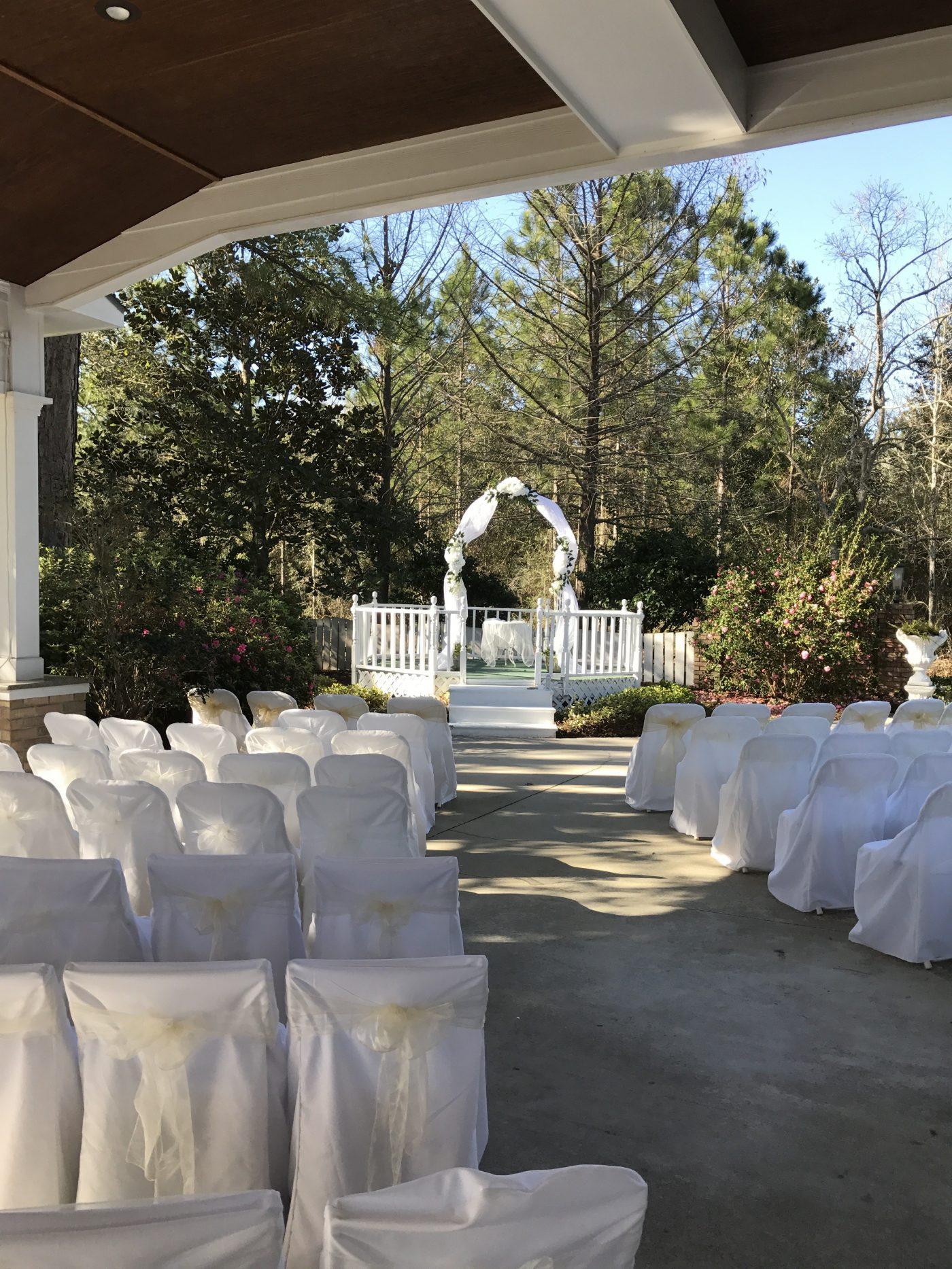 Gulf Shores Wedding Chapel Garden Wedding