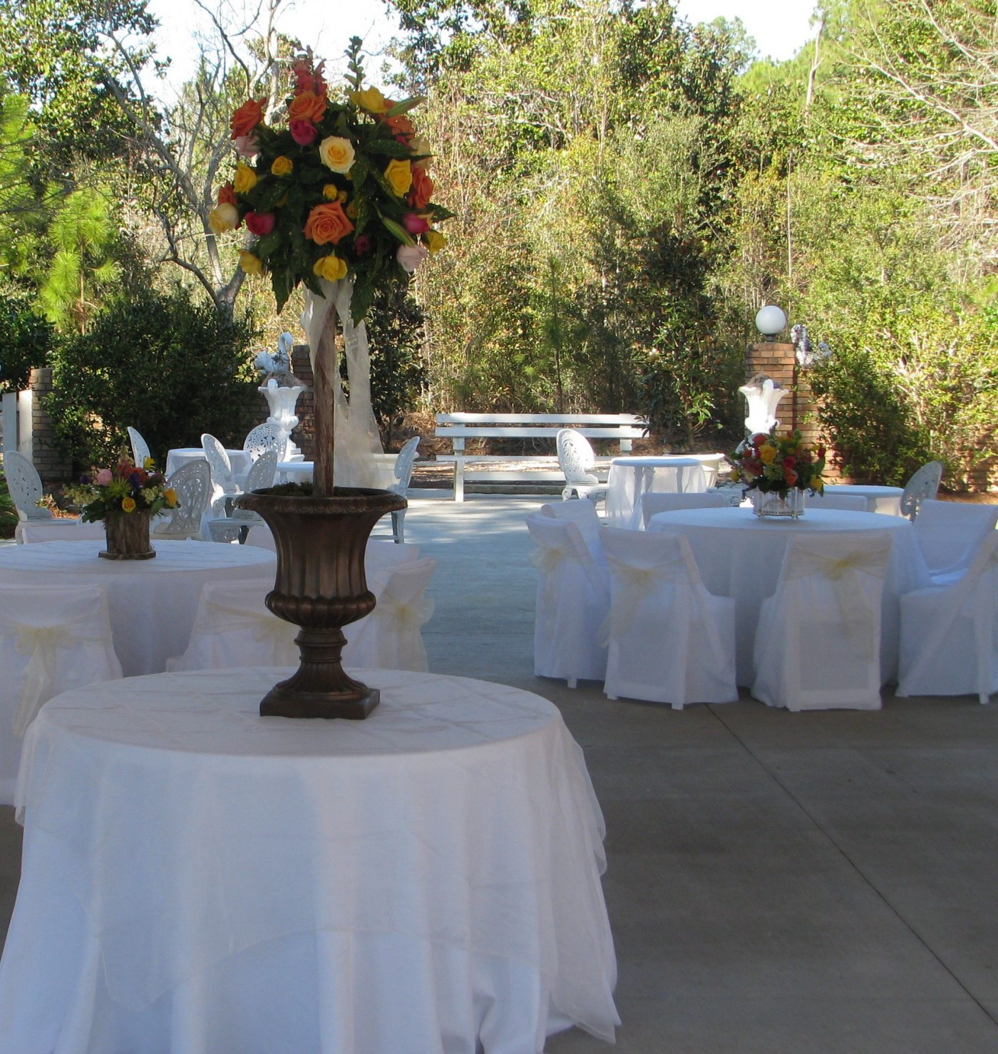 Gulf Shores Wedding Chapel Reception