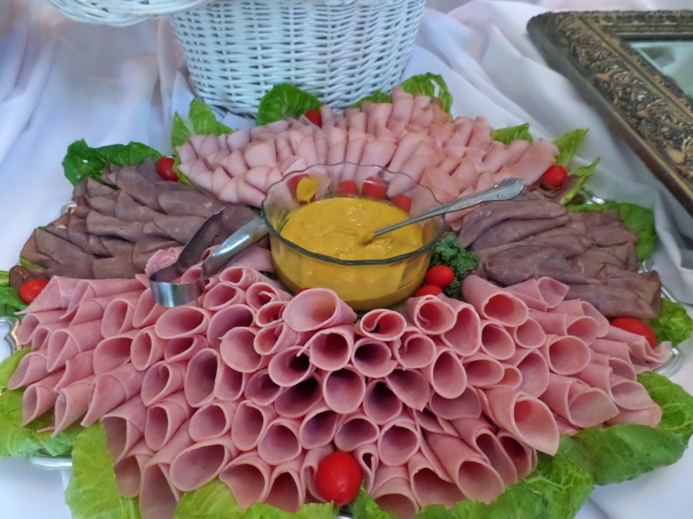 Reception Meat Tray